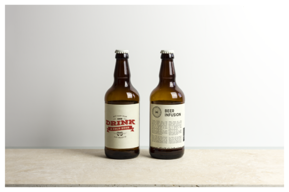 Beer Bottle Mockup / Real Scenes Graphic Product Mockups By dumitrasconiu.design - Image 3