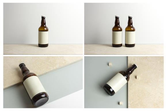 Beer Bottle Mockup / Real Scenes Graphic Product Mockups By dumitrasconiu.design - Image 5