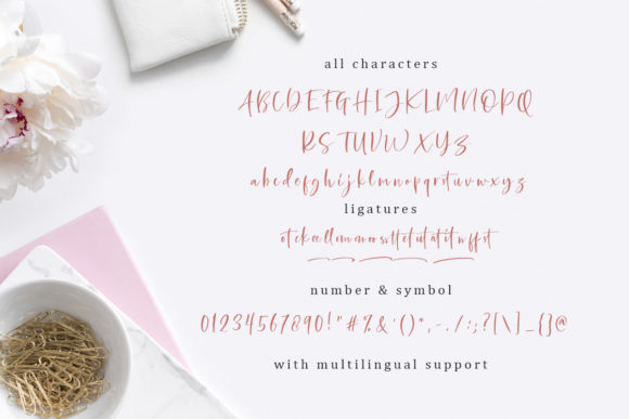 Print on Demand: Bellatrone Script & Handwritten Font By saridezra - Image 6