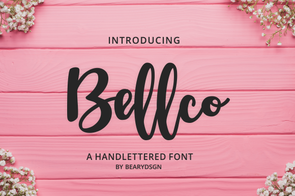 Bellco Font By LetterBeary Image 1