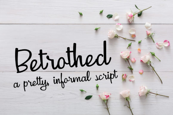 Betrothed Script & Handwritten Font By Illustration Ink