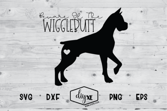 Beware Of The Wigglebutt Graphic By Sheryl Holst Creative Fabrica