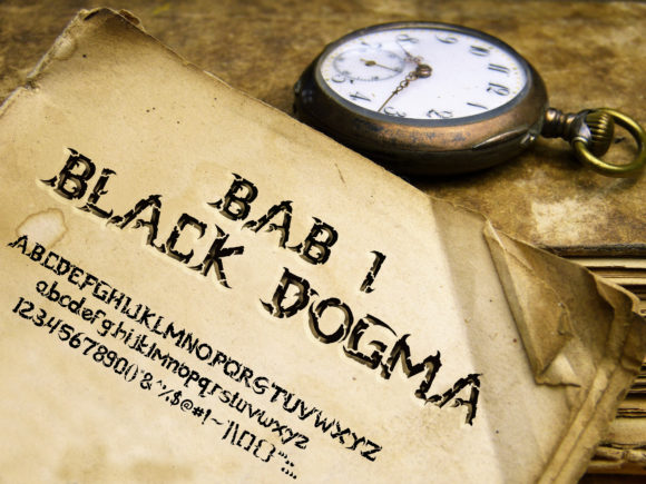 Black Dogma Font By ABs Image 2