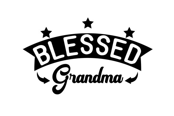 Download Free Blessed Grandma Svg Cut File By Creative Fabrica Crafts for Cricut Explore, Silhouette and other cutting machines.