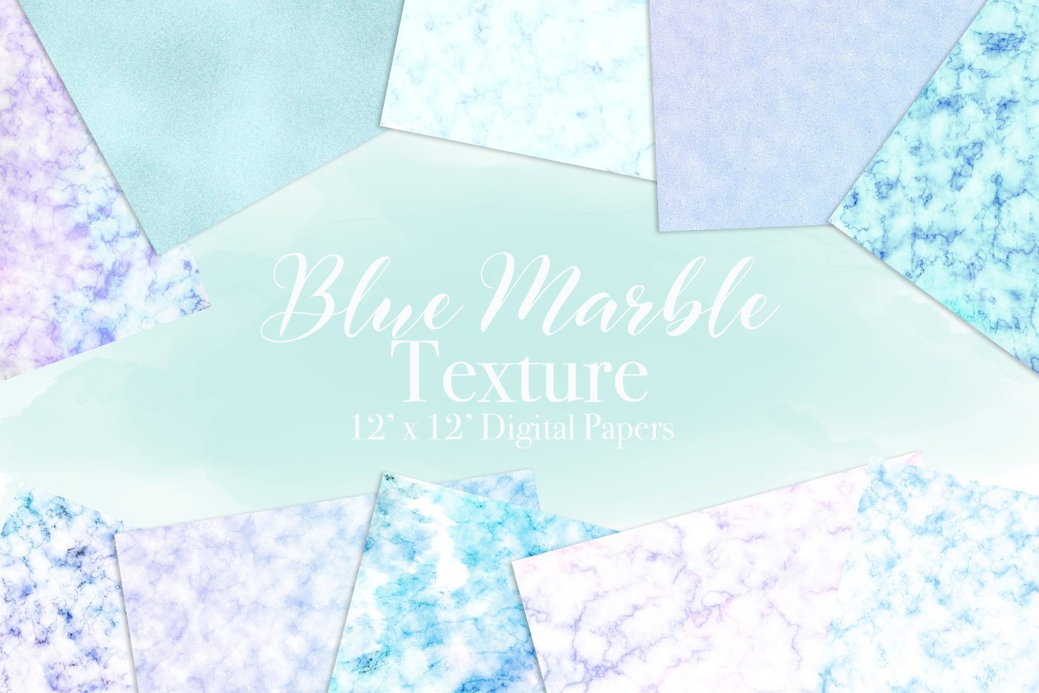 Blue Marble Texture Graphic By Lilyuri0205 Creative Fabrica