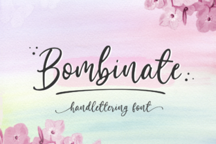 Bombinate Font By Sronstudio