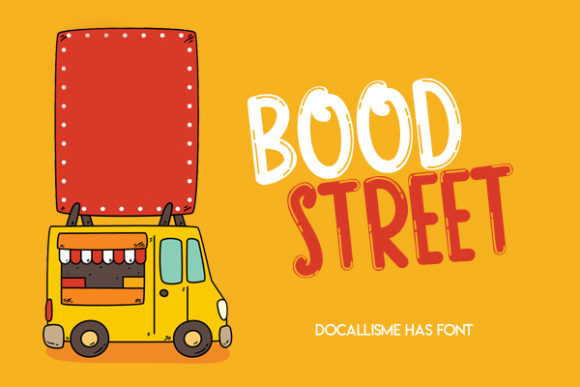 Print on Demand: Bood Street Display Fuente Por Docallisme