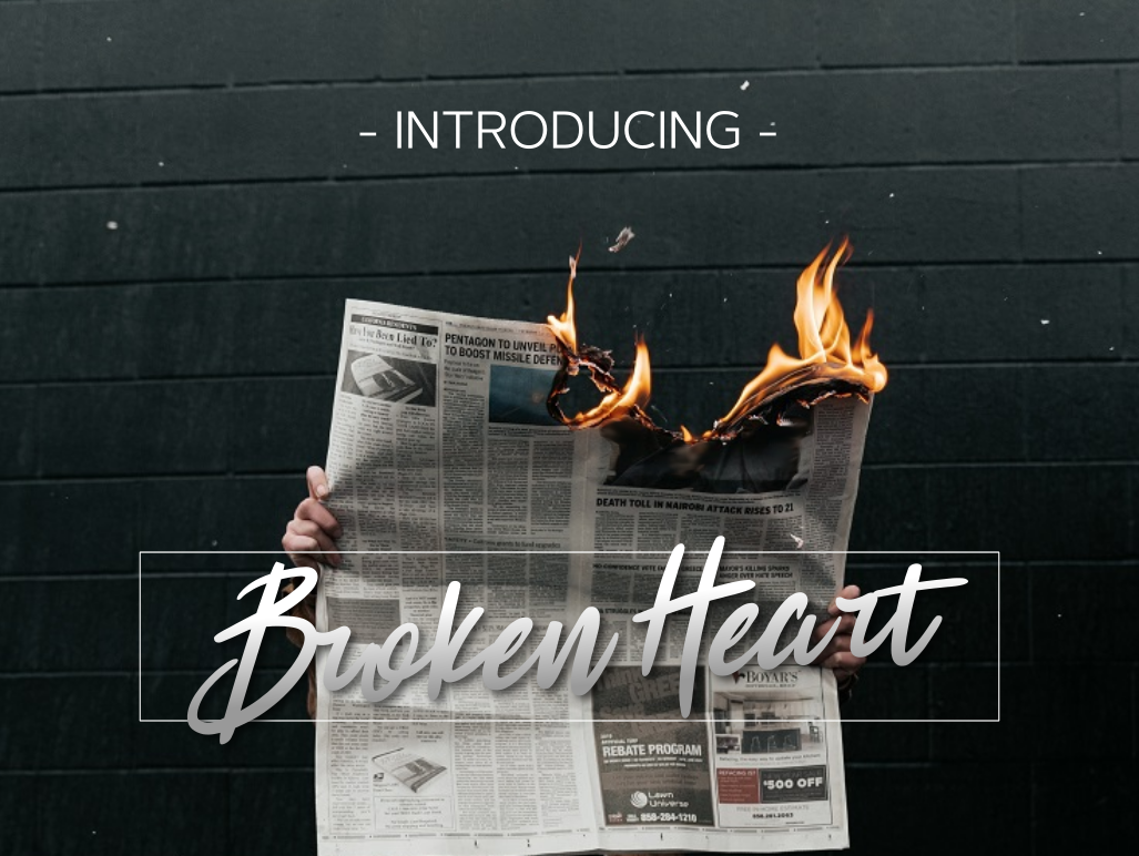 Download Free Broken Heart Font By Ghazi Humam Fauzan Creative Fabrica for Cricut Explore, Silhouette and other cutting machines.