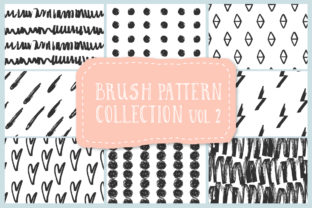 Brush Pattern Collection Graphic By anatartan