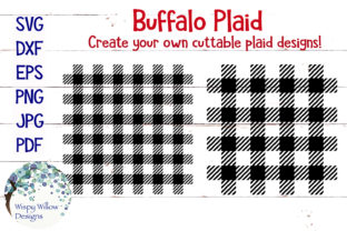 Download Free Buffalo Plaid Bundle Graphic By Wispywillowdesigns Creative for Cricut Explore, Silhouette and other cutting machines.
