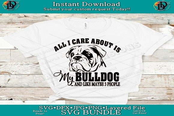 Bulldog  Graphic Crafts By dynamicdimensions