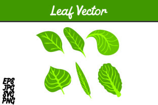 Download Free Bundle Green Leaf Set Svg Vector Image Graphic By Arief Sapta for Cricut Explore, Silhouette and other cutting machines.