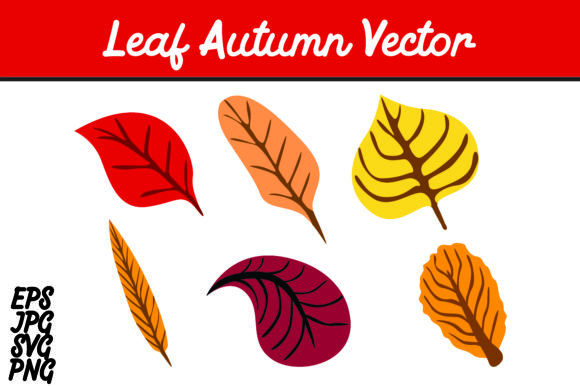 Download Free Bundle Leaf Autumn Set Svg Vector Image Graphic By Arief Sapta Adjie Creative Fabrica for Cricut Explore, Silhouette and other cutting machines.