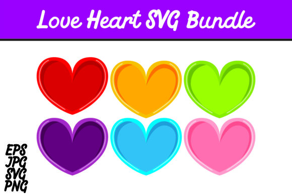 Download Free Bundle Love Heart Set Svg Vector Image Graphic By Arief Sapta for Cricut Explore, Silhouette and other cutting machines.