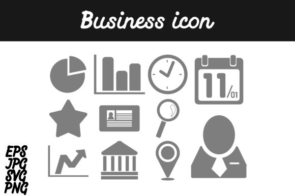 Download Free Bundle Business Icon Set Svg Vector Image Graphic By Arief Sapta SVG Cut Files