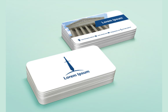 Print on Demand: Business Cards Template Graphic Print Templates By nirmala.graphics