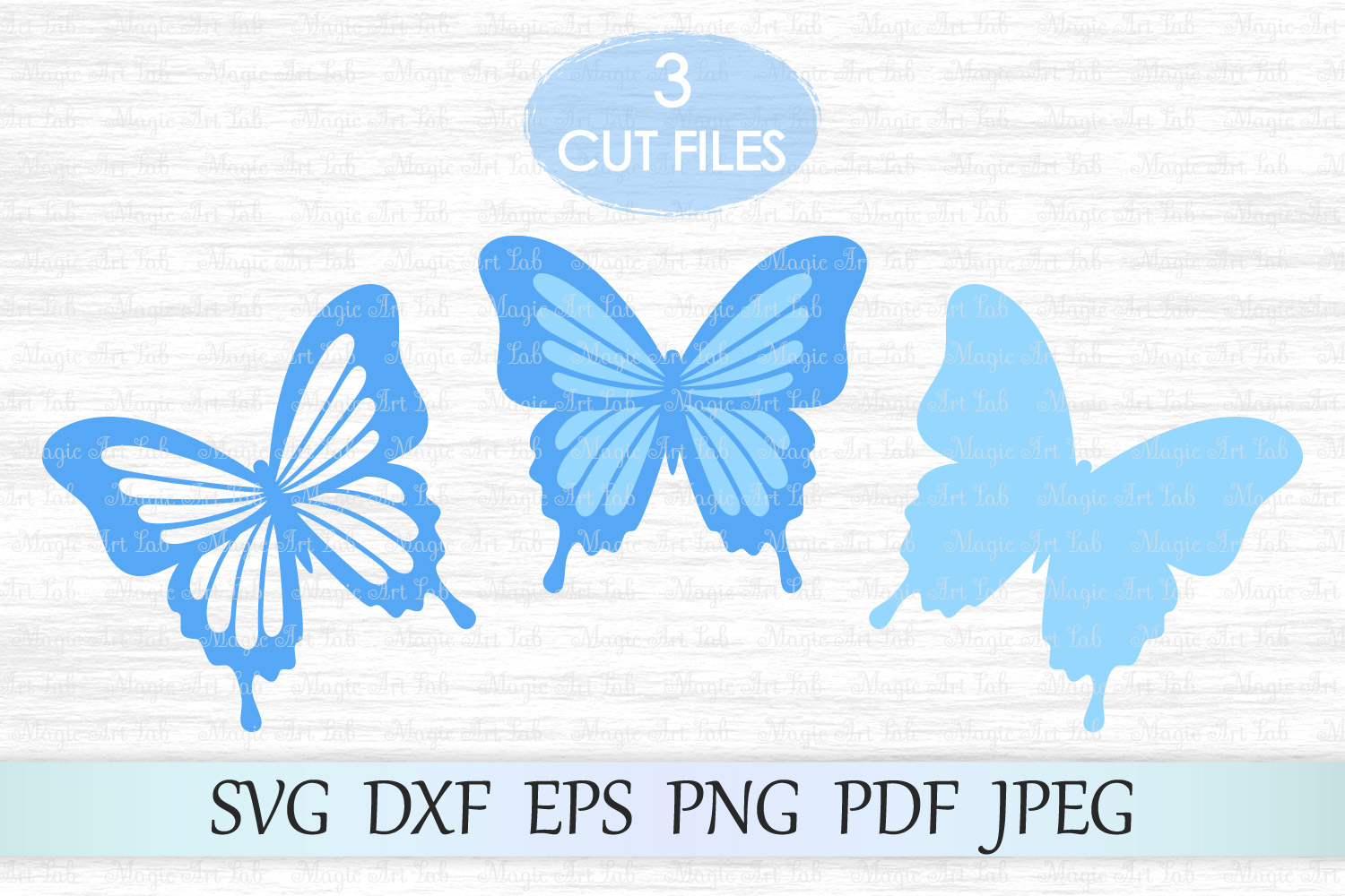 Download Free Butterfly Graphic By Magicartlab Creative Fabrica for Cricut Explore, Silhouette and other cutting machines.