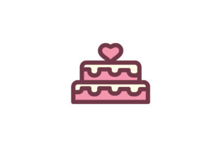 Download Free Cake Icon Grafico Por Ahlangraphic Creative Fabrica for Cricut Explore, Silhouette and other cutting machines.