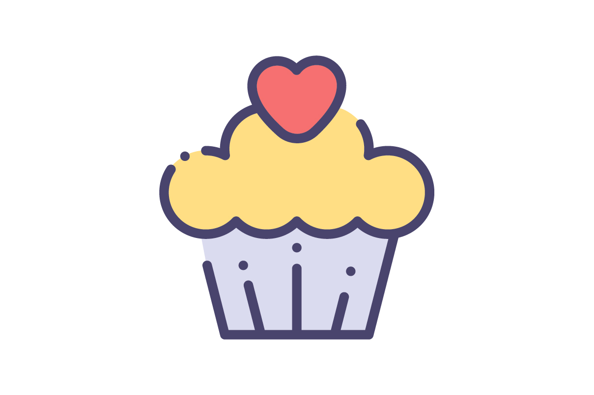Download Free Cake Icon Graphic By Rudezstudio Creative Fabrica for Cricut Explore, Silhouette and other cutting machines.