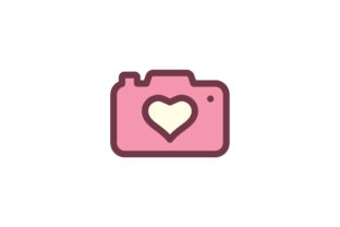 Download Free Camera Icon Graphic By Ahlangraphic Creative Fabrica for Cricut Explore, Silhouette and other cutting machines.