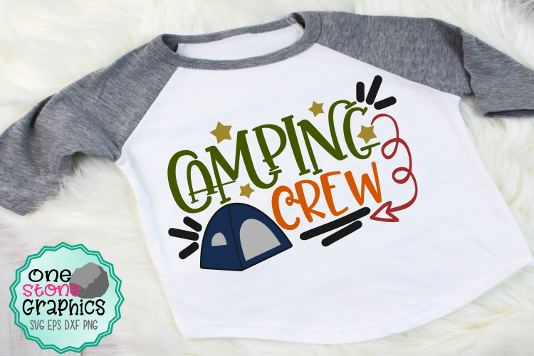 Download Free Camping Crew Graphic By Onestonegraphics Creative Fabrica for Cricut Explore, Silhouette and other cutting machines.
