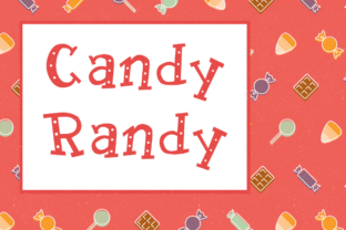 Candy Randy Font By laurenashpole