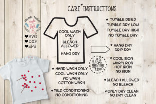 Care Instructions for T-Shirts and Clothes Graphic Illustrations By GraphicHouseDesign