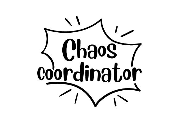 Download Free Chaos Coordinator Svg Cut File By Creative Fabrica Crafts for Cricut Explore, Silhouette and other cutting machines.