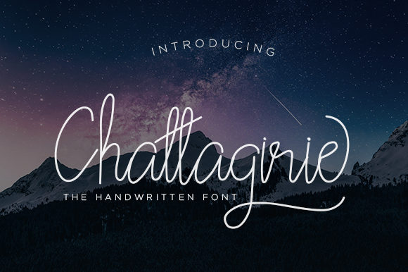 Print on Demand: Chattagirie Script Script & Handwritten Font By Naharstd