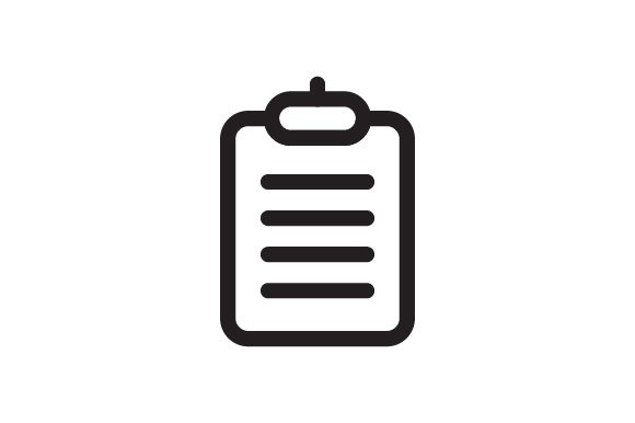 Download Free Checklist Icon Graphic By Kanggraphic Creative Fabrica for Cricut Explore, Silhouette and other cutting machines.