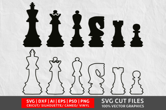 Download Free Chess Graphic By Design Palace Creative Fabrica SVG Cut Files