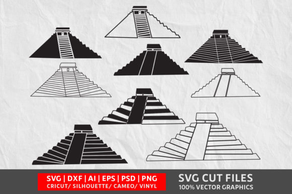 Download Free Chichen Itza Graphic By Design Palace Creative Fabrica SVG Cut Files