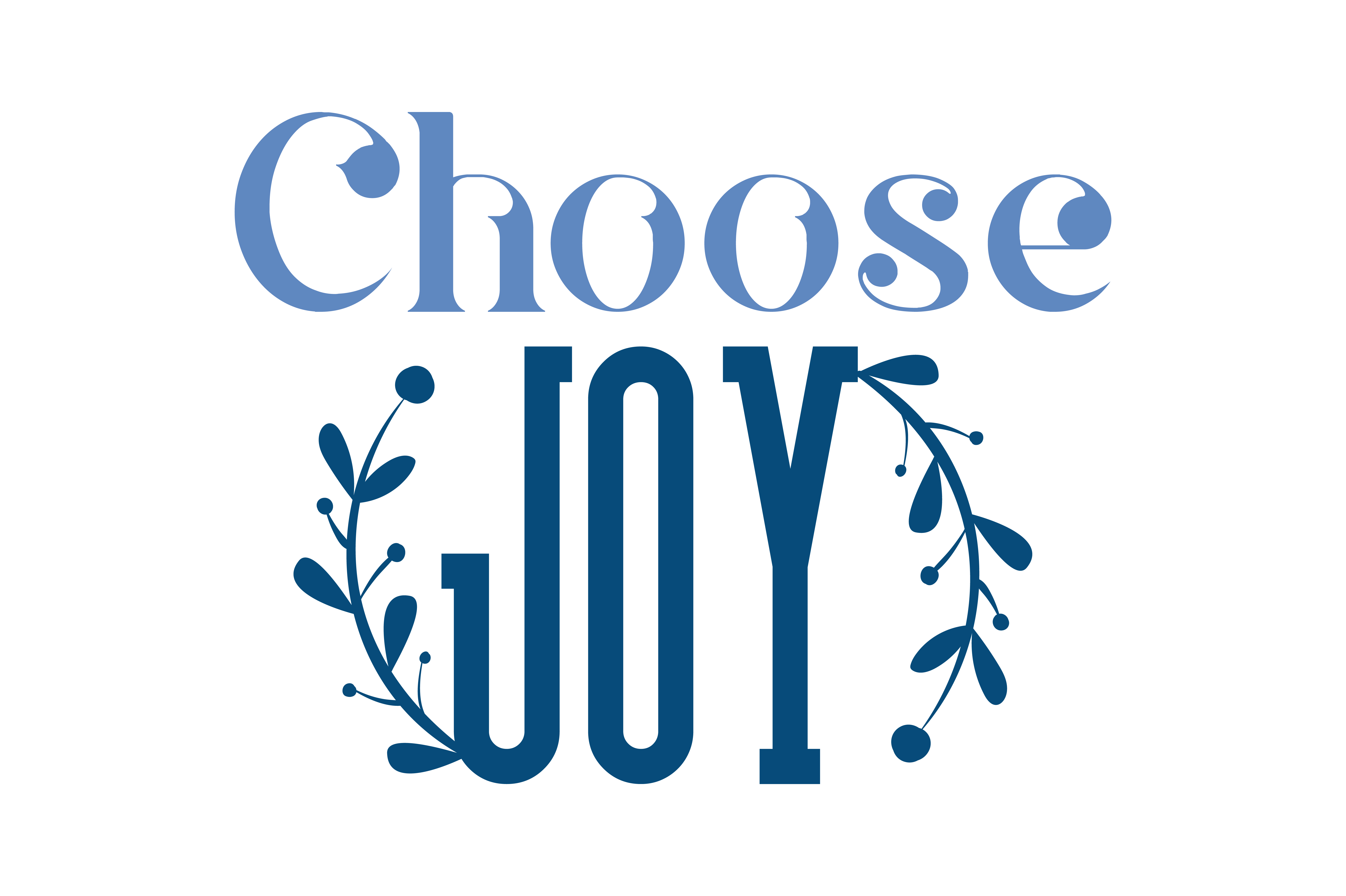 Download Free Choose Joy Quote Svg Cut Graphic By Thelucky Creative Fabrica SVG Cut Files