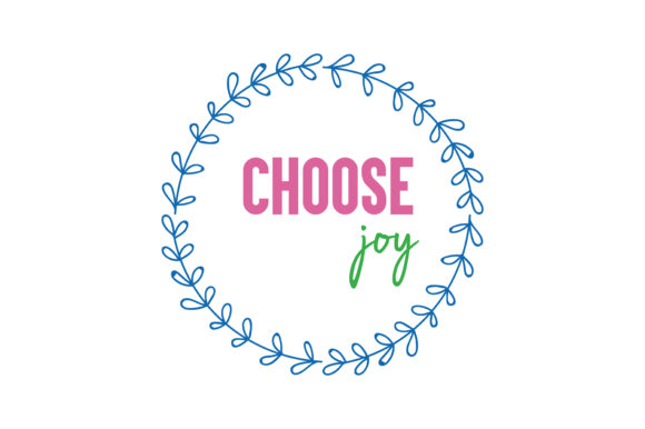 Download Free Choose Joy Svg Cut Quote Grafico Por Thelucky Creative Fabrica for Cricut Explore, Silhouette and other cutting machines.