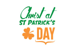 Download Free Christ At St Patrick S Day Quote Svg Cut Graphic By Thelucky for Cricut Explore, Silhouette and other cutting machines.