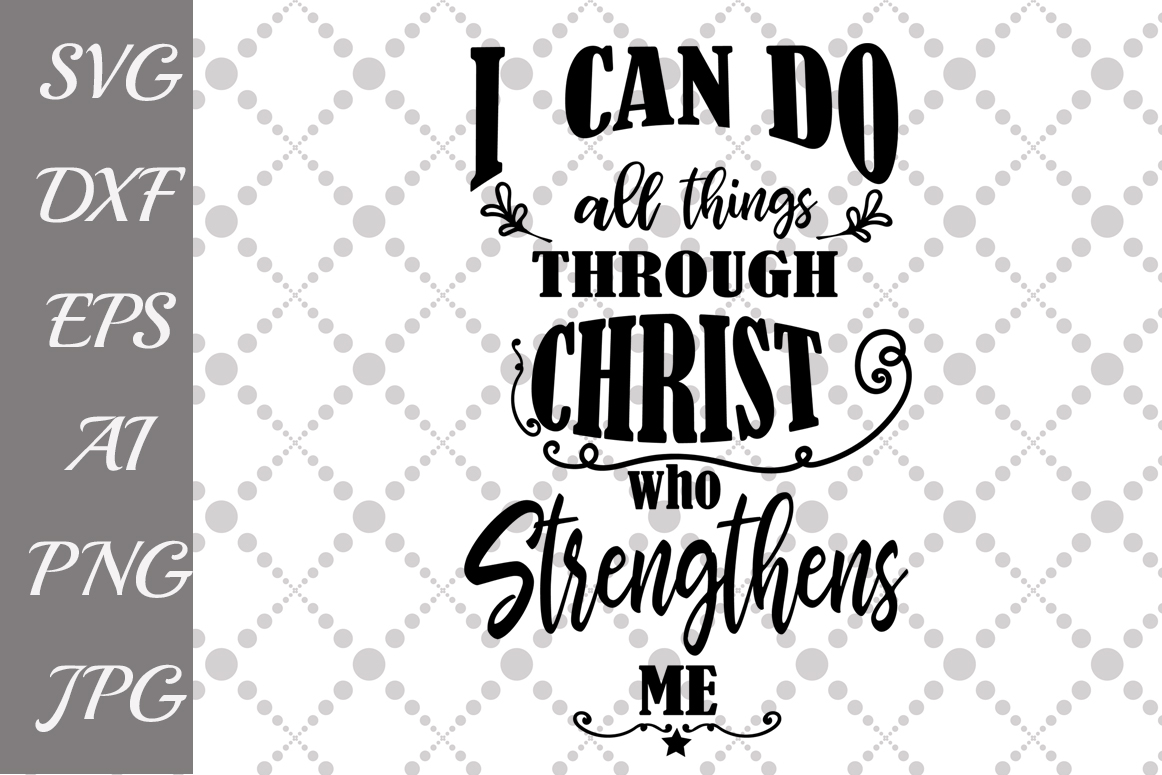 Download Free Christian Quotes Graphic By Prettydesignstudio Creative Fabrica for Cricut Explore, Silhouette and other cutting machines.
