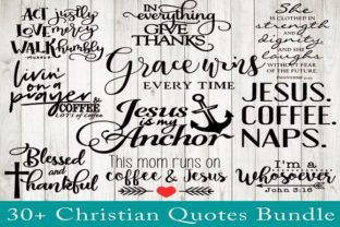 Print on Demand: Christian Quotes Bundle Graphic Crafts By dynamicdimensions 2