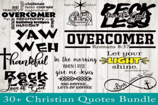 Print on Demand: Christian Quotes Bundle Graphic Crafts By dynamicdimensions 3
