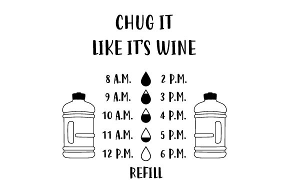 Download Free Chug It Like It S Wine Svg Cut File By Creative Fabrica Crafts for Cricut Explore, Silhouette and other cutting machines.