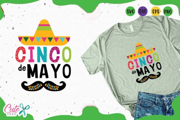 Download Free Cinco De Mayo Svg Files For Crafters Graphic By Cute Files for Cricut Explore, Silhouette and other cutting machines.