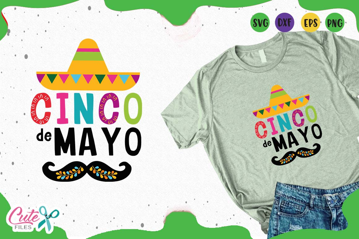 Download Free Cinco De Mayo Svg Files For Crafters Graphic By Cute Files Creative Fabrica for Cricut Explore, Silhouette and other cutting machines.