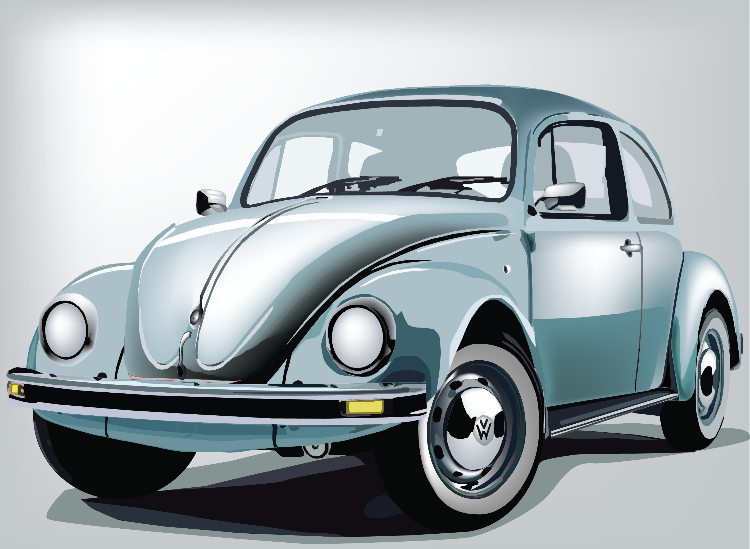 Download Free Classic Car Vector Graphic By Evand Creative Fabrica for Cricut Explore, Silhouette and other cutting machines.
