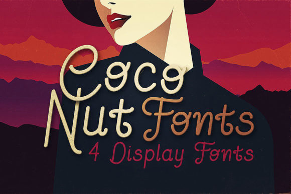 Coconut Family Display Font By JumboDesign