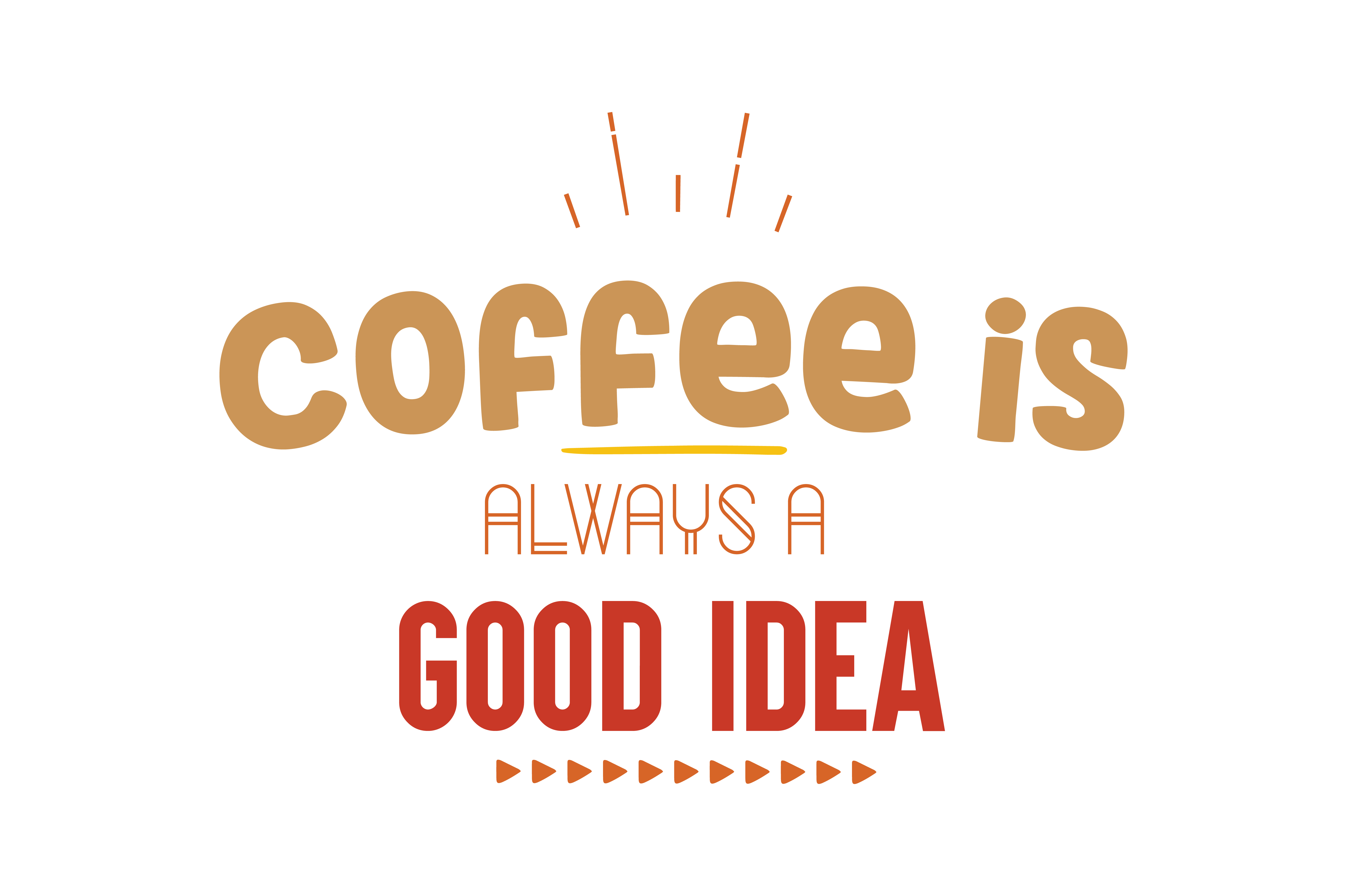 Download Free Coffee Is Always A Good Idea Quote Svg Cut Creative Fabrica for Cricut Explore, Silhouette and other cutting machines.