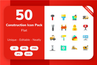 Construction - Flat Graphic By Icon Stale