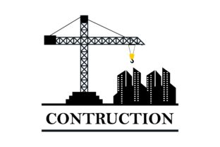 Download Free Construction Industry Logo Graphic By Deemka Studio Creative for Cricut Explore, Silhouette and other cutting machines.