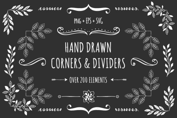 Corners & Dividers Graphic Illustrations By anatartan