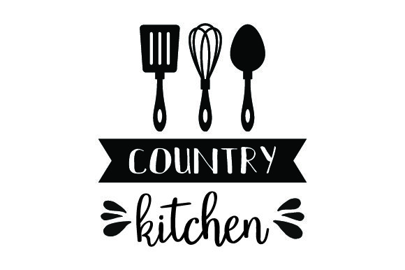 Country Kitchen Cocina Archivo de Corte Craft Por Creative Fabrica Crafts