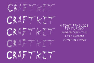 Craft Kit Font By GraphicsBam Fonts