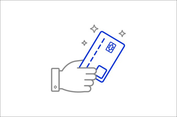 Print on Demand: Credit Card Payment Graphic Icons By khld939